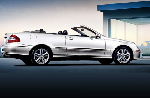 Mercedes CLK350 Rental