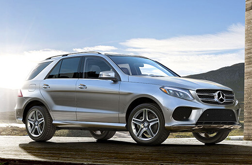 Mercedes GLE350 Rental
