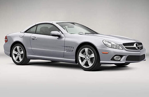 Mercedes SL550 Rental